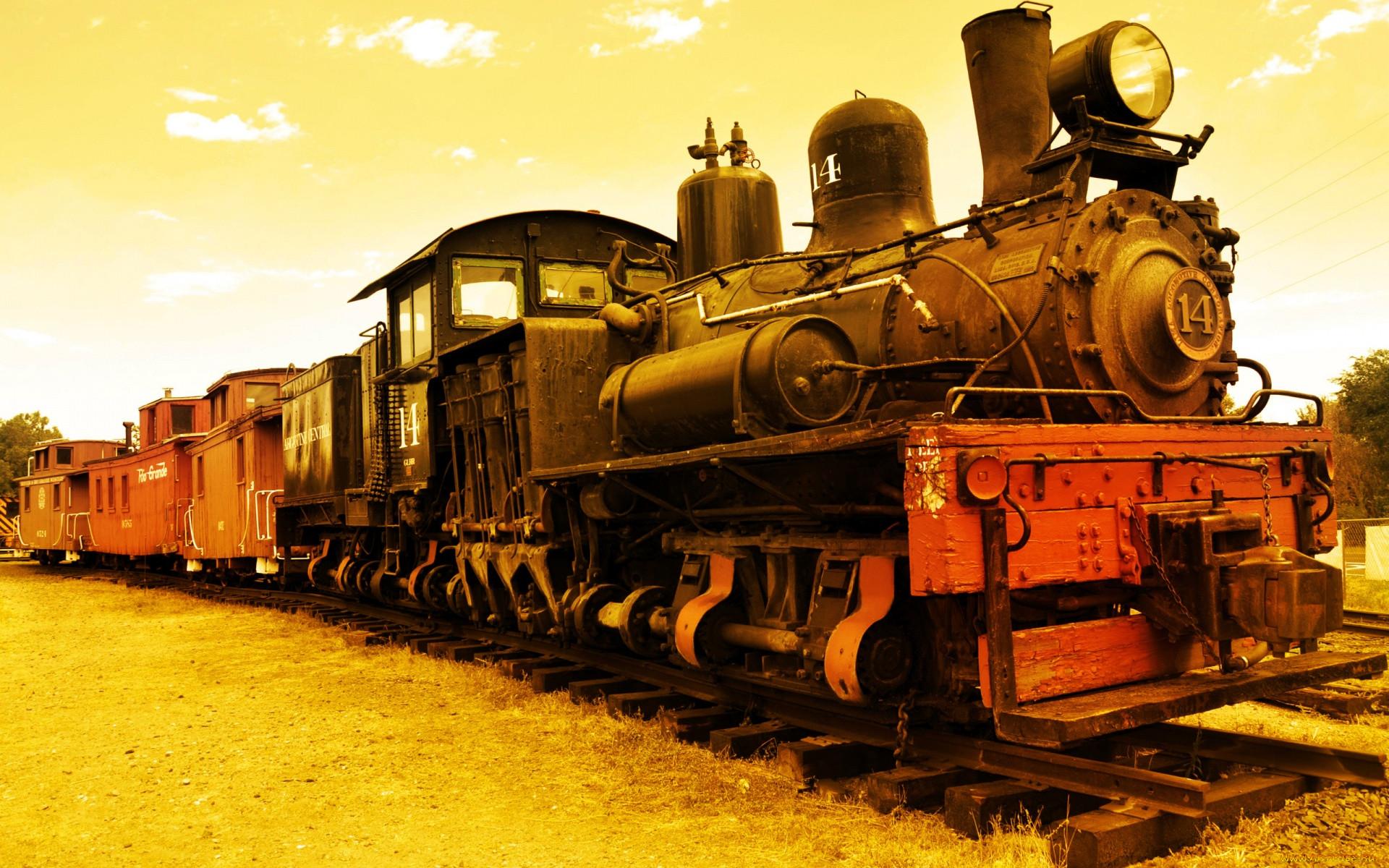 Картинки старый паровоз